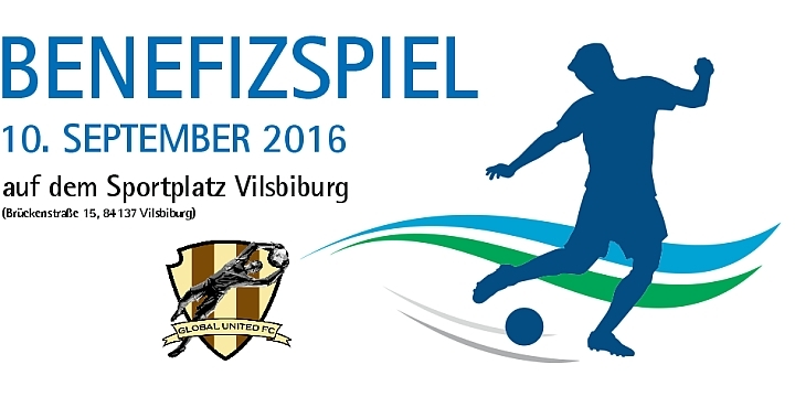 Rahmenprogramm Benefizspiel am 10. September 2016 in Vilsbiburg.